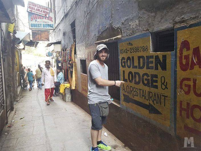 Alojamiento en Varanasi, India - Golden Lodge Hotel
