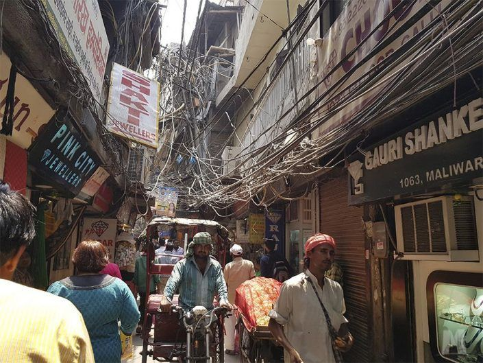 Qué ver en Delhi, India - Chandni Chowk