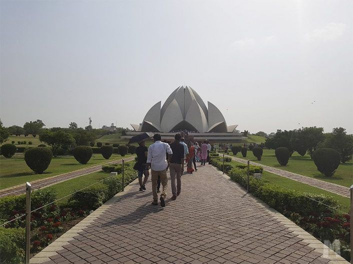 Qué ver en Delhi, India - Lotus Temple