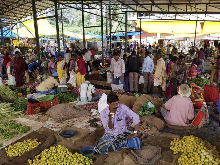 Sunday Local Market de Kodaikanal