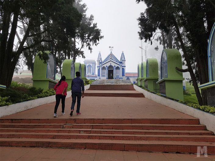 Qué ver en Kodaikanal, India - La Salette Shrine