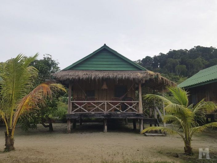 Alojamiento en Koh Rong, Camboya - Palm Beach Bungalow Resort