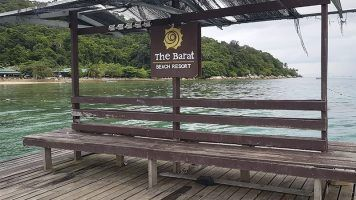 Alojamiento en Perhentian, Malasia - The Barat Perhentian Beach Resort